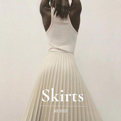 Mẫu Chân Váy Công Sở Đẹp 2021-2