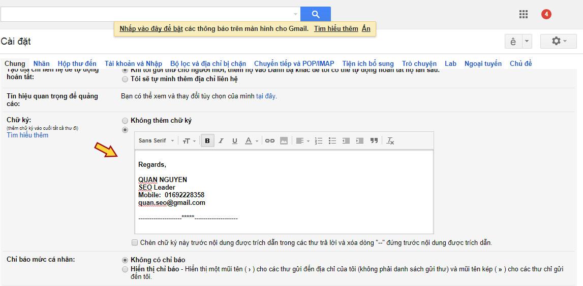 Cách viết email cho nhà tuyển dụng