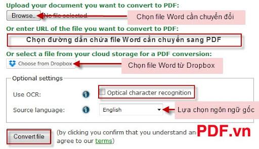 3 Cách chuyển Word sang PDF nhanh chóng - PDF.vn