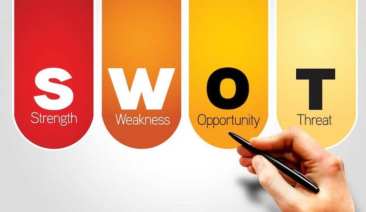 Ma trận SWOT là gì?  Và Ứng dụng trong chiến lược chứng chỉ kinh doanh - Công ty TNHH nhận KNA
