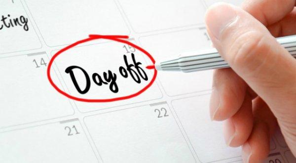 quy định ngày nghỉ phép