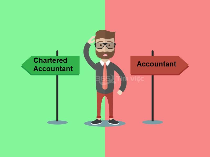 So sánh kế toán viên giám định với kế toán viên bình thường - Chartered Accountant là gì?